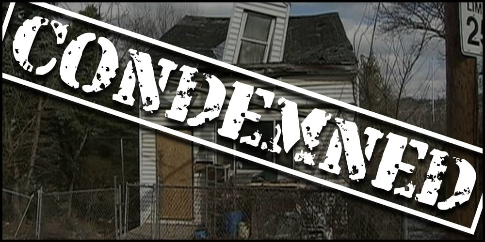 condemned banner image we buy houses